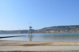 Le lac de Clairvaux les lacs début mars