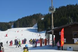 Une petite station de ski dans le Jura