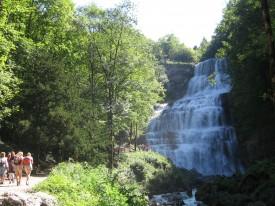 Cascades du hérisson l'éventail