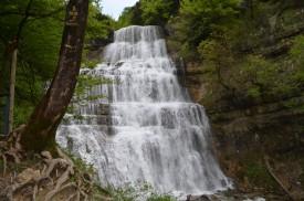 Cascades du hérisson - l'éventail