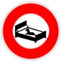 Animaux interdit sur les lits