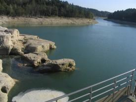 La rivière d'ain à Pont-de-Poitte