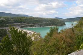 Lac de Vouglans - barrage