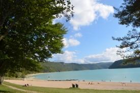 Page sur le lac de Vouglans
