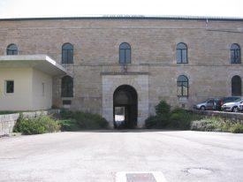 Entrée du Fort des Rousses