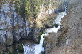 Belvédère de la cascade de la Billaude
