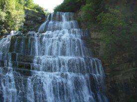 Album photos lors de randonnées autour des cascades du Jura