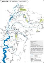 Parcours de pêche de la région des lacs
