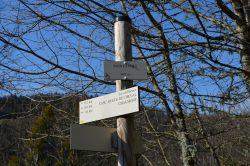 Balisage et signalétique directionnelle des randonnées