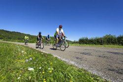 Vélo en famille sur les routes du Jura