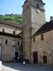 Baume les Messieurs : Abbaye 2