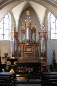 Église de Clairvaux-les-lacs : Orgue